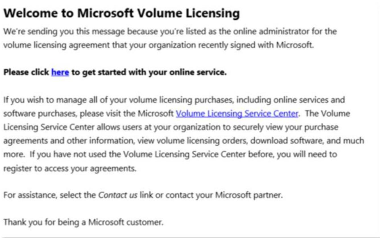 Ativação das licenças do Office 365